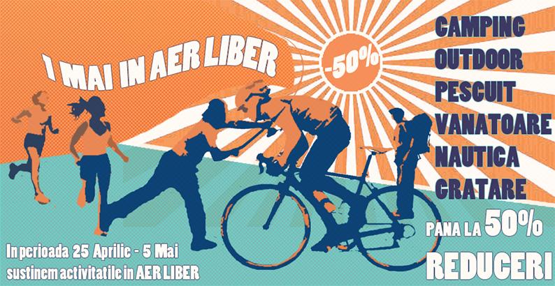 Campanie promotii 1 Mai in aer liber