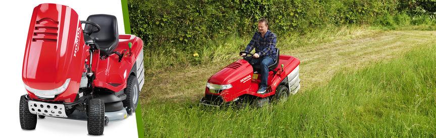 Tractoras de tuns iarba HONDA