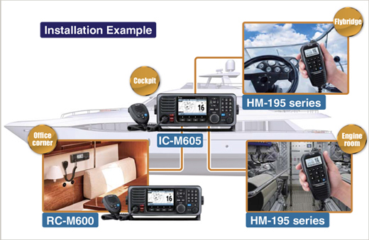 Icom IC-M605