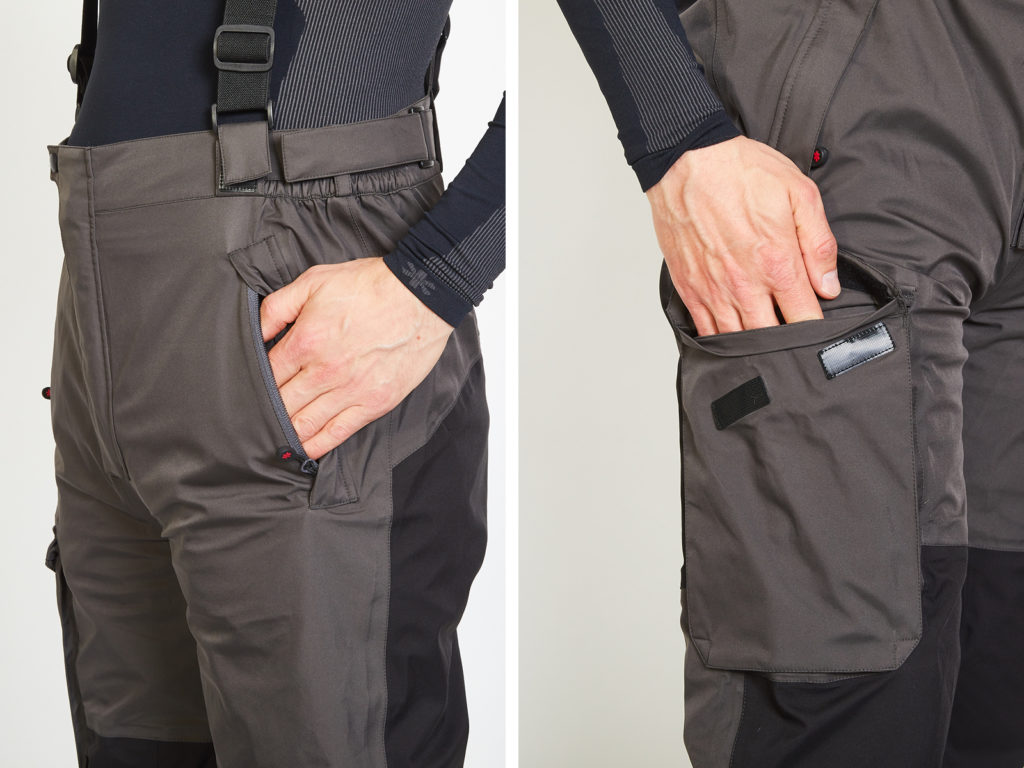 Norfin Pro Dry 2 Lucky John - buzunare pantaloni