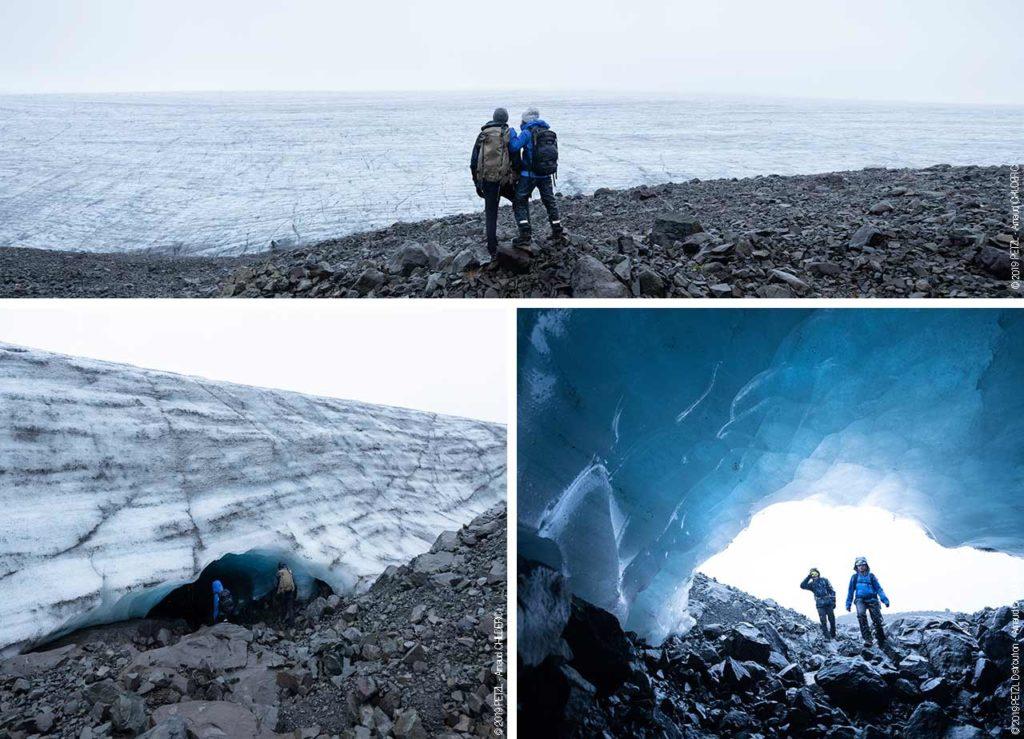 Găsirea unei peșteri