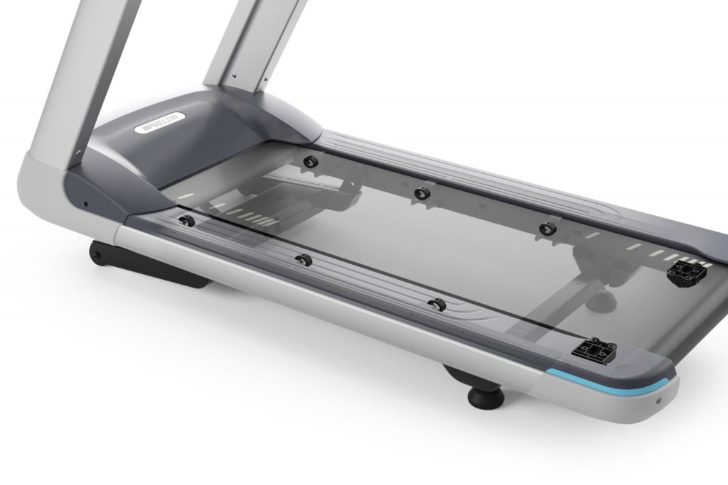 Precor - tehnologia Integrated Footplant