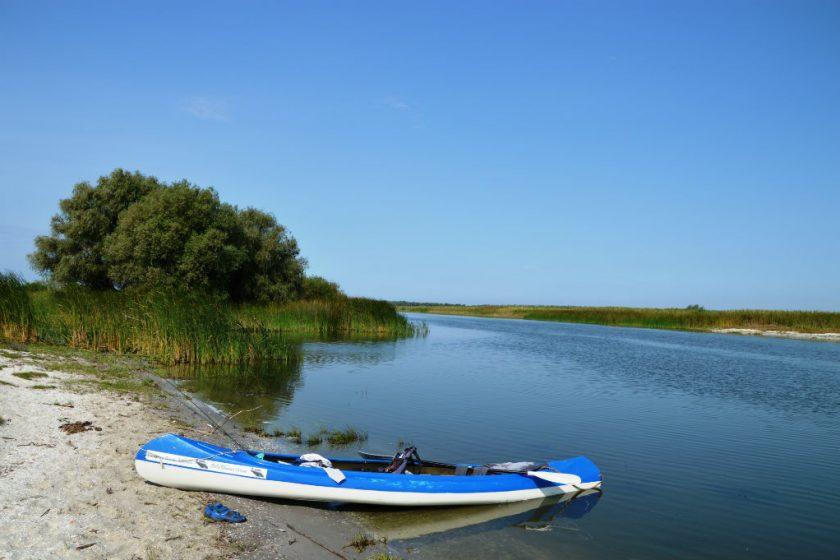 Delta vazuta de la rasul apei