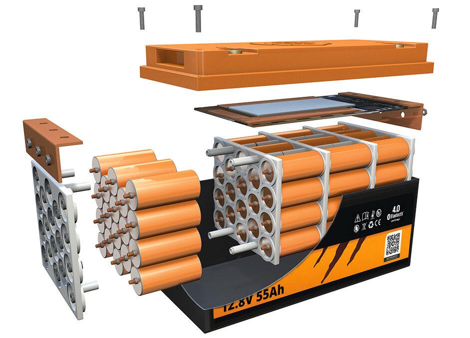 Bateriile LIONTRON LiFePO4 beneficiaza de o construcție modulara